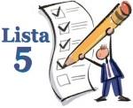 Lista 5